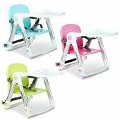 QTI可攜式兩用兒童餐椅|買即贈提袋+椅墊