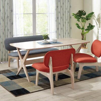 RELAX 餐桌椅四件組