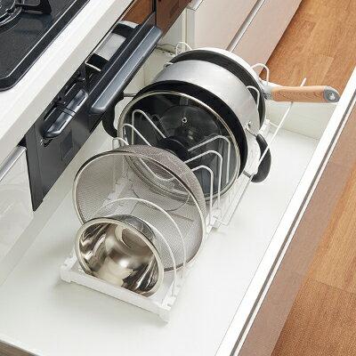 碗盤平底鍋架