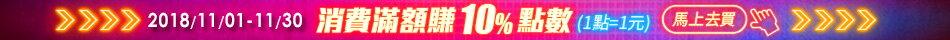 樂天會員日專屬優惠:消費滿額賺10%點數
