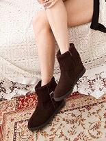 韓版針織毛料保暖短靴-女裝,內衣,睡衣,女鞋,洋裝