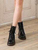 牛津透明底馬汀靴-女裝,內衣,睡衣,女鞋,洋裝