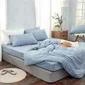 樂天振興券居家生活-精梳棉床包兩用被組