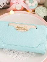 致愛麗絲插卡拉鍊長夾-精品,包包,行李箱,配件,名牌