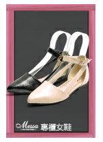 知性側鏤空繫踝尖頭鞋-女裝,內衣,睡衣,女鞋,洋裝